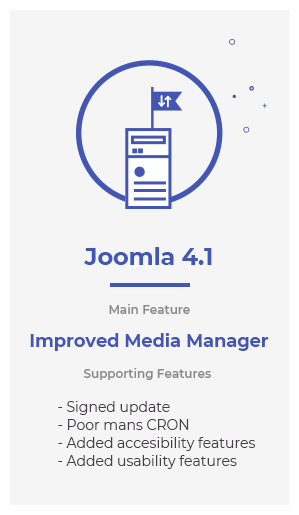 Joomla41 features