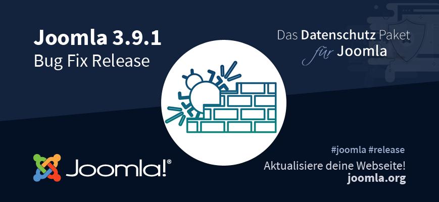 Joomla! 3.9.1 Release