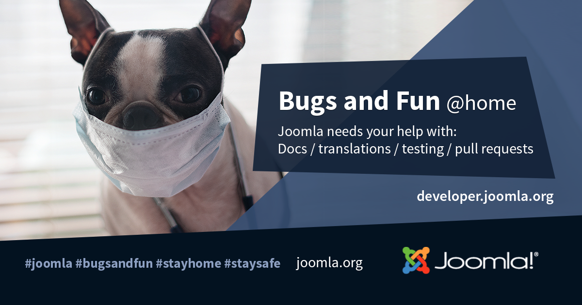 Joomla Bugs and Fun @home
