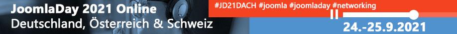 JoomlaDay D-A-CH Online 2021